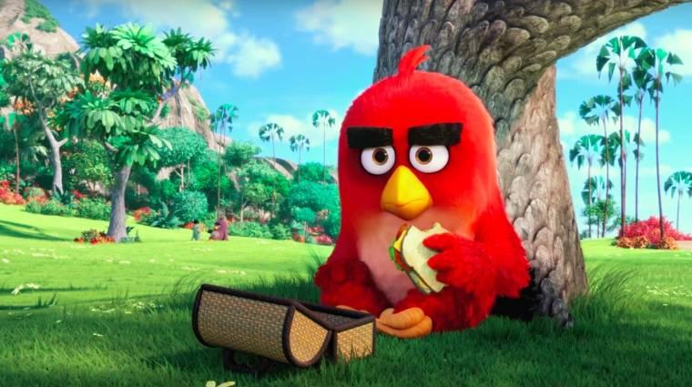 Angry Birds film - egészen vicces lett az új trailer bevezetőkép