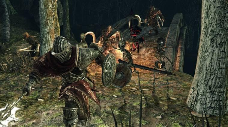 Dark Souls II: Scholar of the First Sin - vérfagyasztó videó hirdeti a megjelenést bevezetőkép