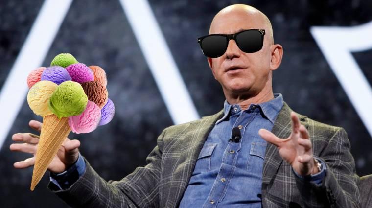 Hipszter fagyigéppel lepte meg magát Jeff Bezos kép