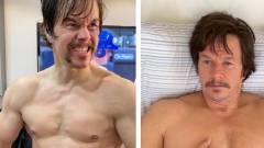 Mark Wahlberg izom helyett zsírpárnákat szedett magára egy szerep kedvéért kép