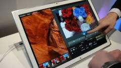 Jön a 20 hüvelykes, Ultra HD-s tablet kép