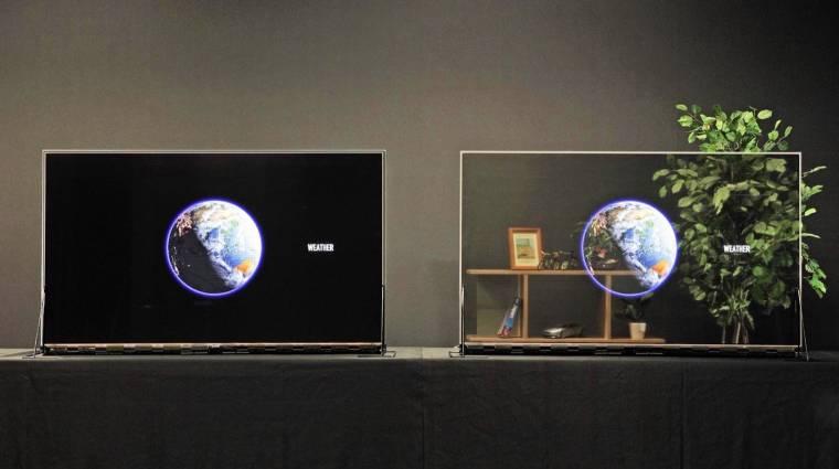 Jön a Panasonic átlátszó OLED-tévéje kép