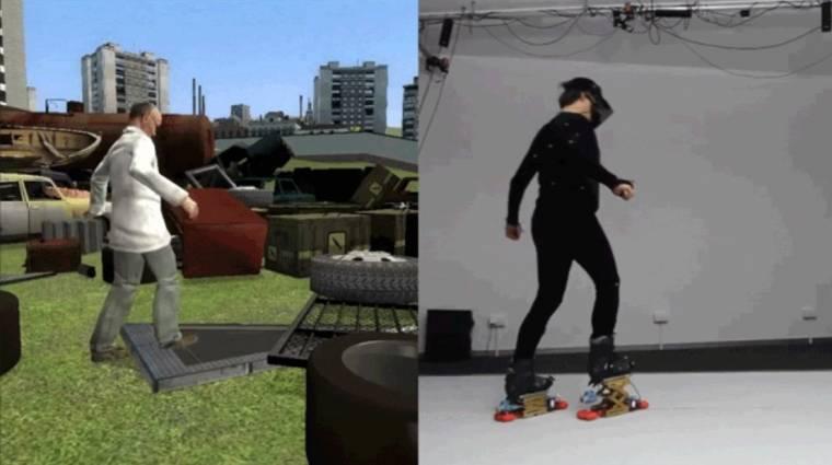 Már lépcsőt is mászhatunk a virtuális valóságban bevezetőkép