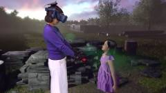 A virtuális valóságban találkozott halott lányával egy anya kép