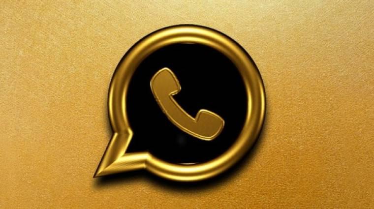 Nincs olyan, hogy WhatsApp Gold, még csak véletlenül se telepítsd! kép