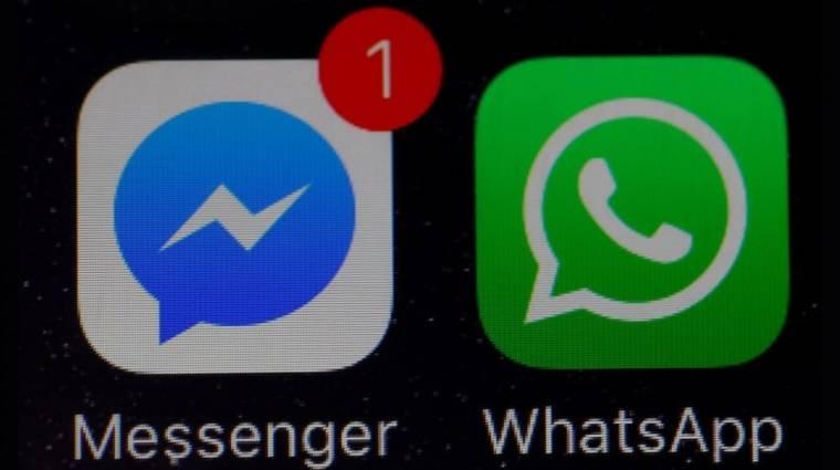 Kezdődhet a Facebook Messenger és a WhatsApp összeolvadása kép