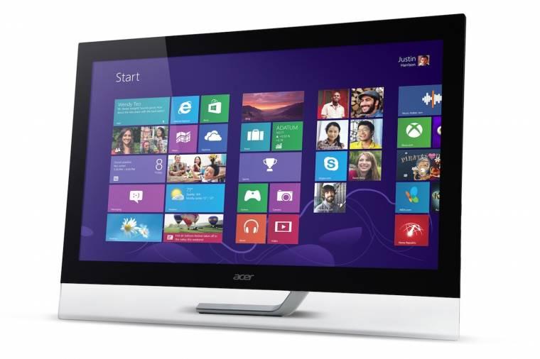 Acer érintőképernyős monitor