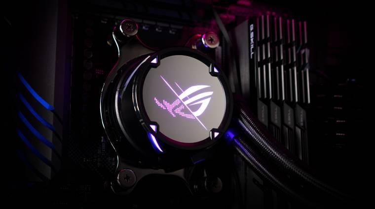Vízhűtést szeretnél az Intel újgenerációs processzoraihoz? Az ASUS ott segít, ahol csak tud kép