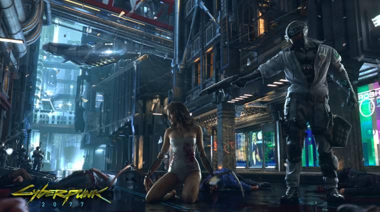 Cyberpunk 2077- ízig-vérig szerepjáték bevezetőkép
