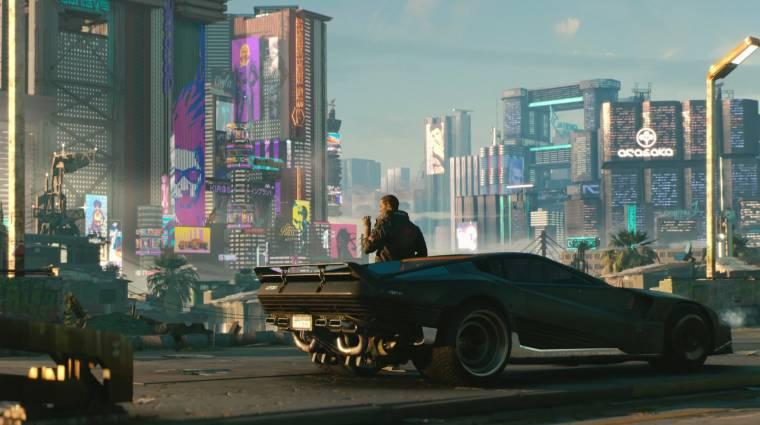 E3 2018 - nem győzzük feldolgozni a Cyberpunk 2077 elképesztő világát bevezetőkép