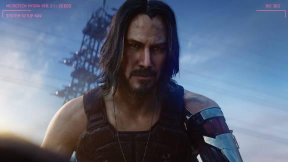 A Cyberpunk 2077 új előzetesében Keanu Reeves leckéztet gengszterségből kép