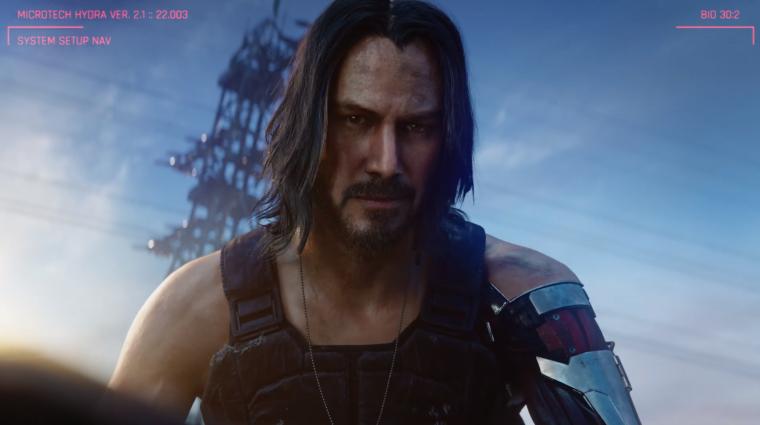 E3 2019 - megvan a Cyberpunk 2077 megjelenési dátuma, szerepel benne Keanu Reeves bevezetőkép