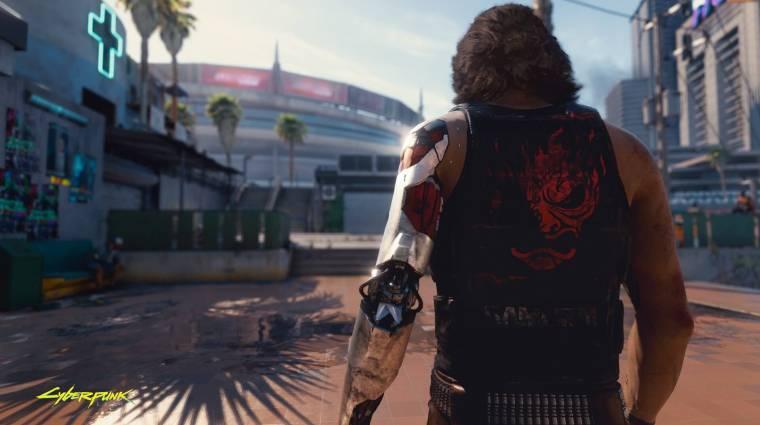 Cyberpunk 2077 - ekkora hely kell majd PS4-en bevezetőkép