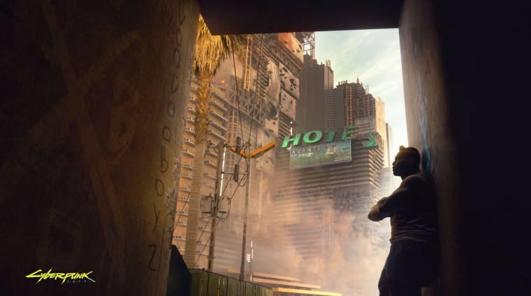 Tartalmas könyvből ismerhetjük meg jobban a Cyberpunk 2077 futurisztikus városát bevezetőkép