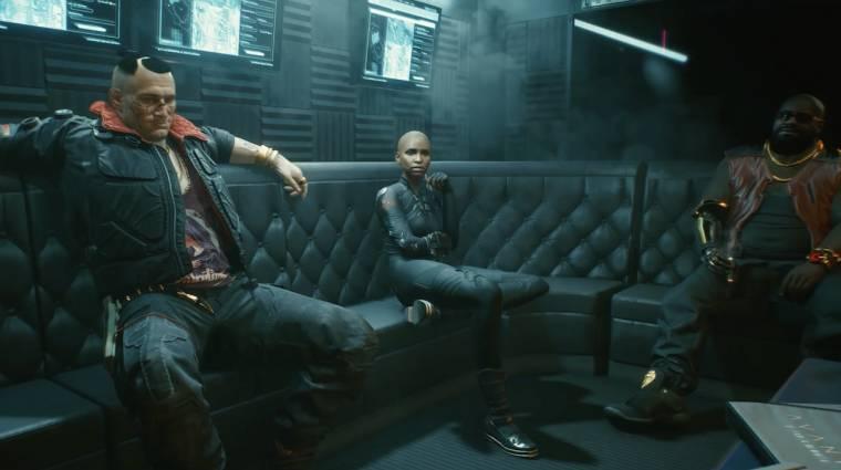 Lenyűgöző és sötét a Cyberpunk 2077 új előzetese bevezetőkép