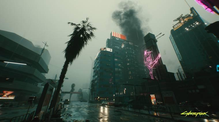 Képeken a Cyberpunk 2077 PC-exkluzív ray tracing effektjei bevezetőkép