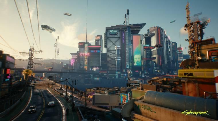 Alaposan eltér majd egymástól a Cyberpunk 2077 városának hat körzete bevezetőkép