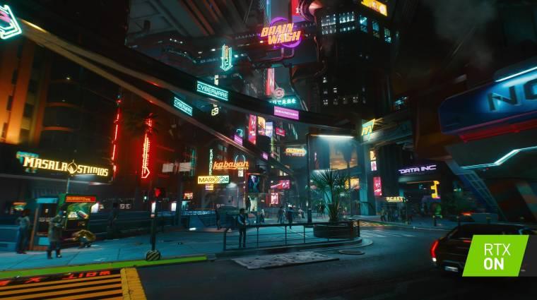 Ütősen néz ki a Cyberpunk 2077 maximumra húzott ray tracing beállításokkal bevezetőkép
