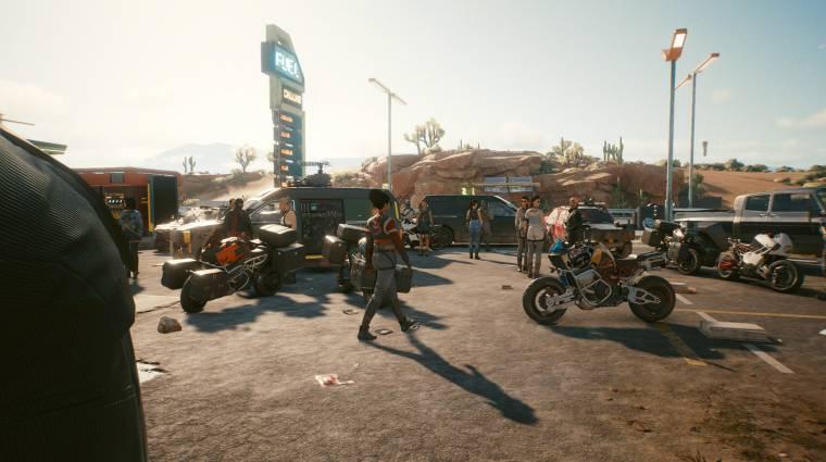 A Cyberpunk 2077 multiplayernek a GTA Online-hoz hasonló játékmódja is lesz? bevezetőkép