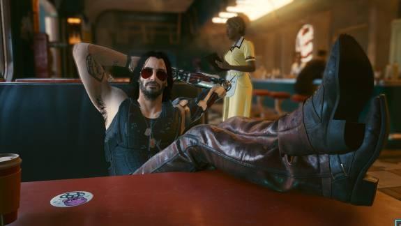 Addig moddolták a Cyberpunk 2077-et, míg ágyba nem lehetett bújni Keanu Reeves karakterével kép