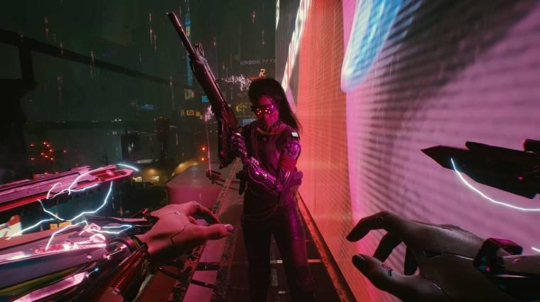 Azért a Cyberpunk 2077 gigajavítása után is maradtak a játékban furcsaságok bevezetőkép