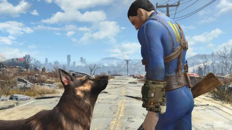 Fallout 4 - egy új modnak hála bármelyik kutyát megsimogathatjuk bevezetőkép