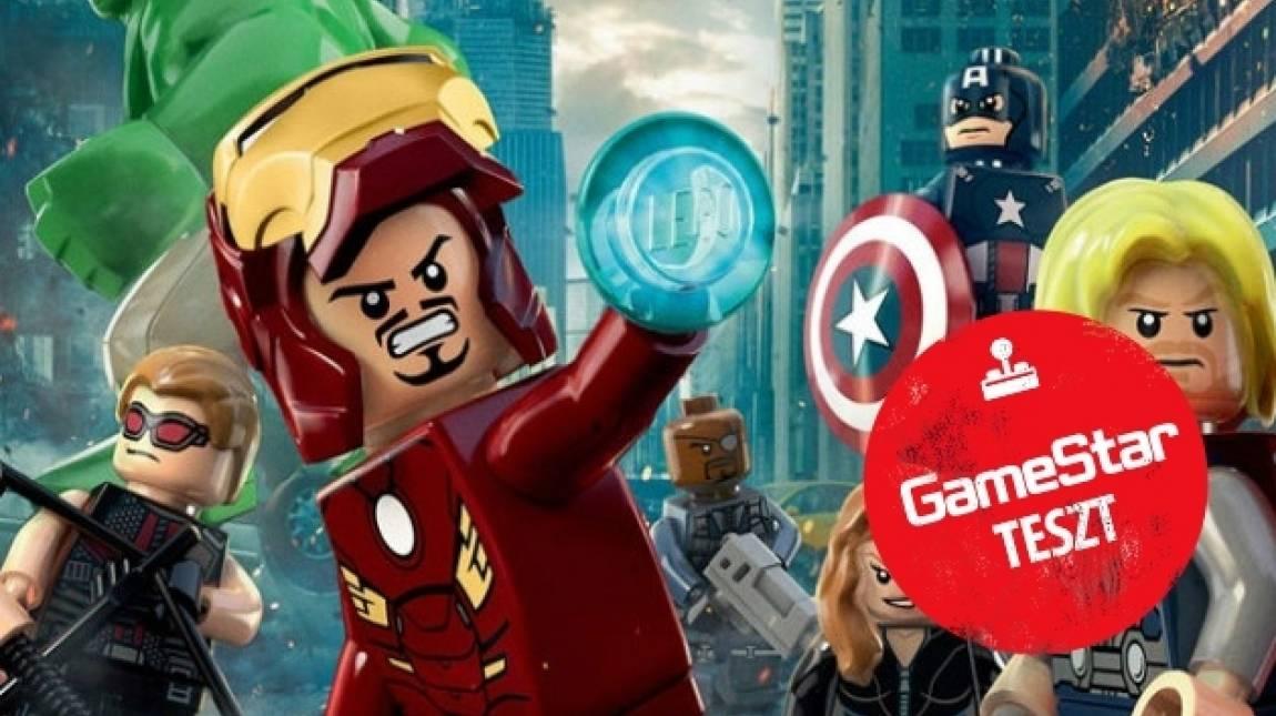 LEGO Marvel Super Heroes teszt - kockahősök bevezetőkép