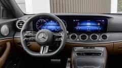 Az új Mercedes-Benz E-osztály kormánya tele lesz szenzorokkal kép