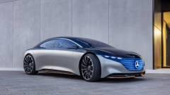 Óriási, 56 hüvelykes kijelzőt tesz elektromos autójába a Mercedes-Benz kép