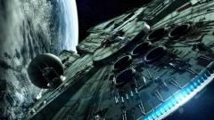 Star Wars VII - így fest egy X-szárnyú és a Millennium Falcon a forgatáson kép