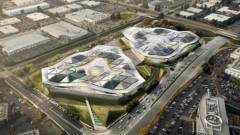 Építészeti csodának ígérkezik az Nvidia új otthona kép