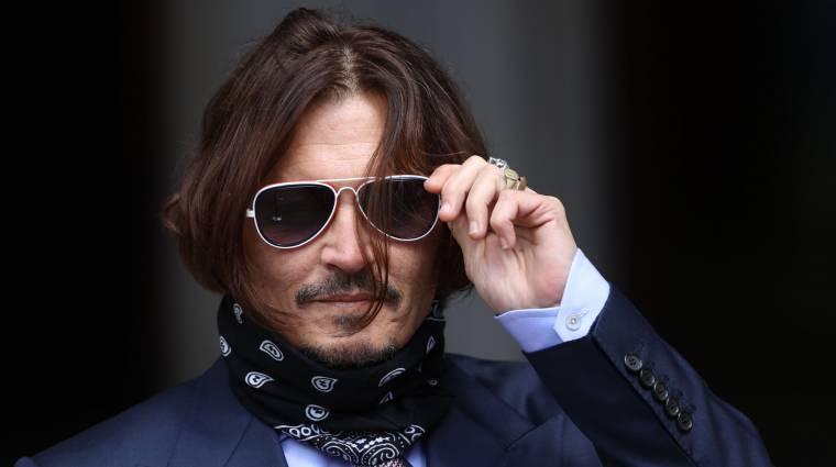 Fontos győzelmet aratott Johnny Depp az Amber Heard elleni pereskedésben bevezetőkép