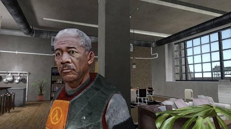 Gordon Freeman szerepében Morgan Freeman - ezt látni kell! bevezetőkép