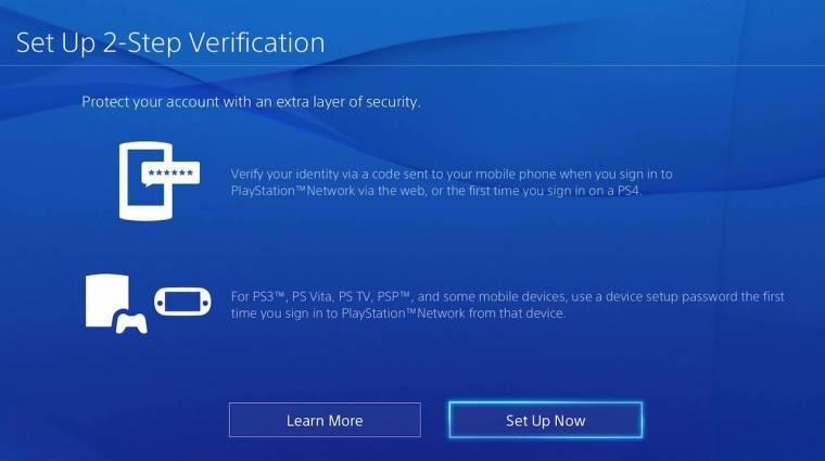 PlayStation - így aktiváld a két lépcsős beléptetést bevezetőkép