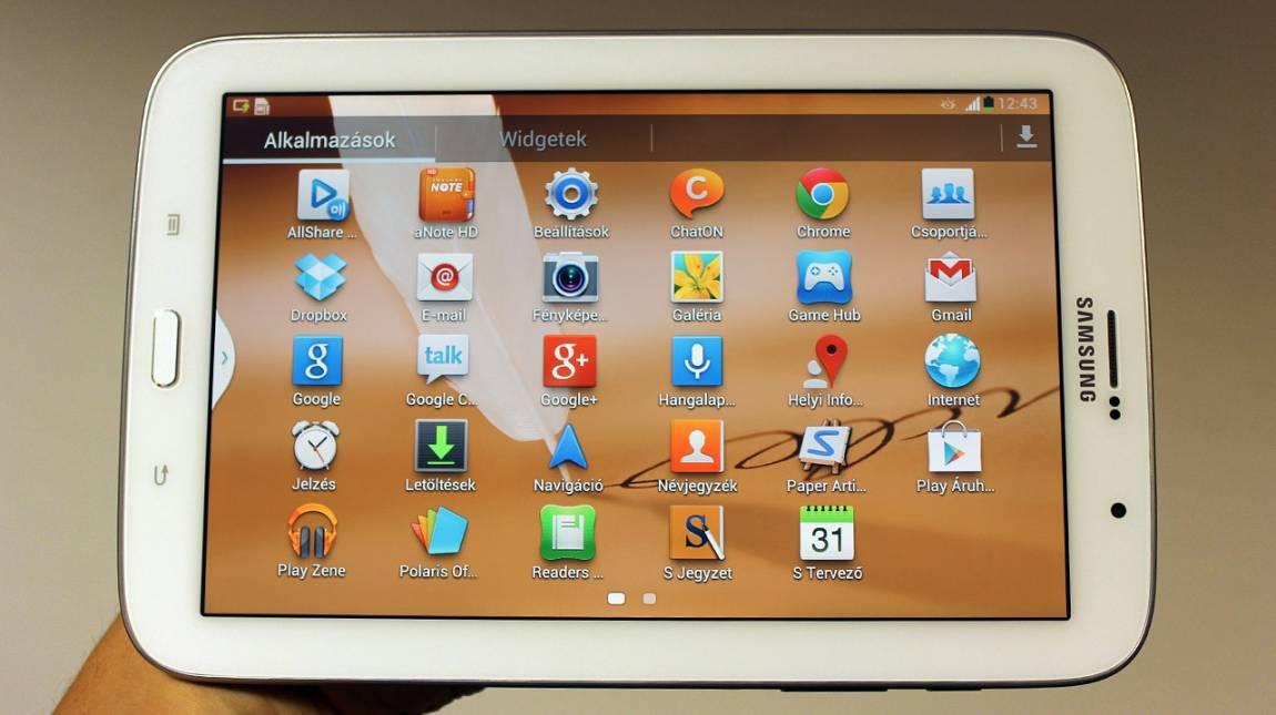 Samsung Galaxy Note 8.0 teszt: Tepsifon vagy tablet? kép