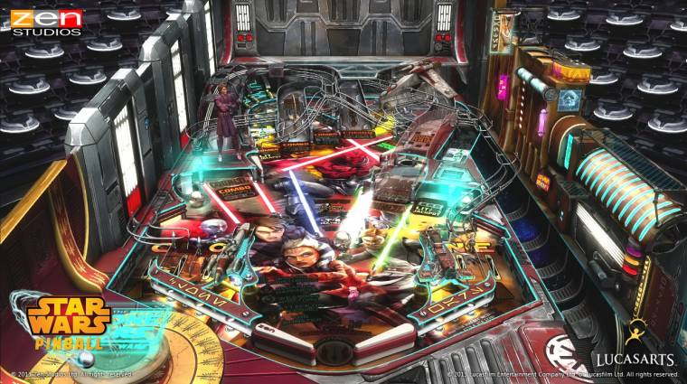 Star Wars Pinball - Boba Fett asztala bevezetőkép