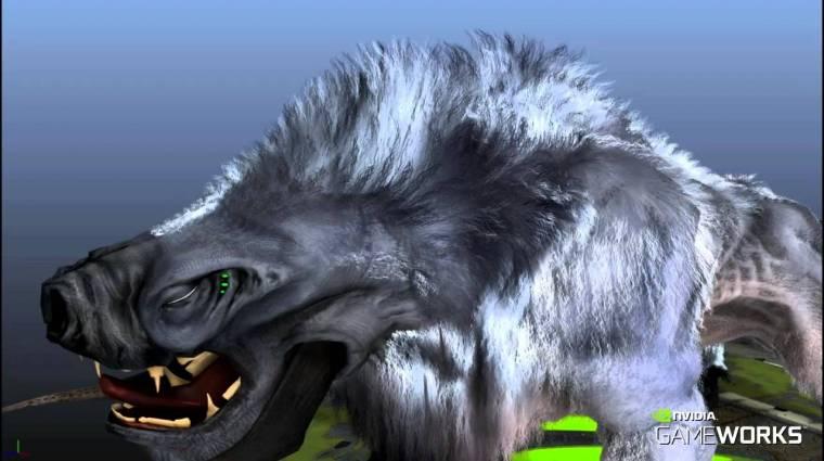 Nvidia HairWorks - ettől áll fel a szőr a The Witcher 3 állatai hátán (videó) bevezetőkép