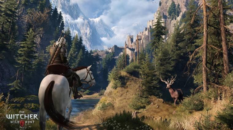 The Witcher 3 - új videón a gyönyörű világ bevezetőkép