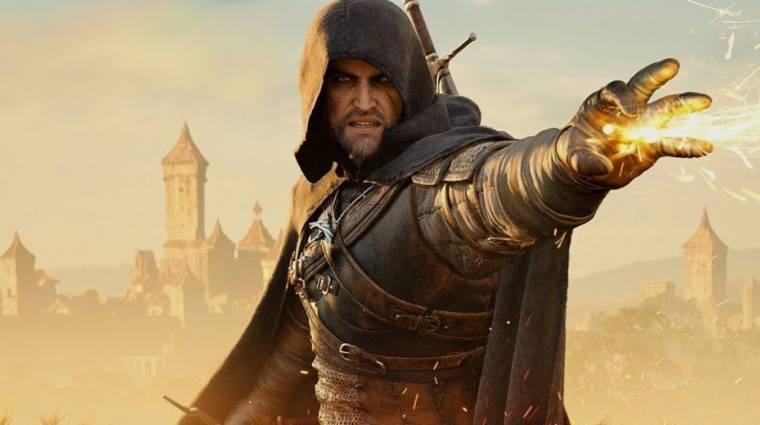 Hatalmas siker a The Witcher széria bevezetőkép