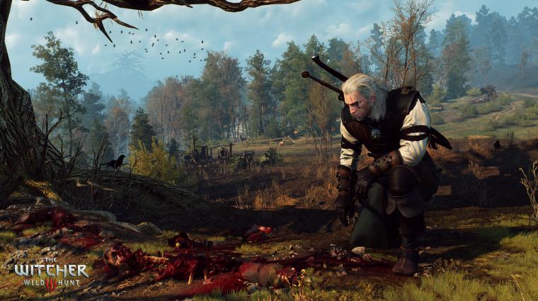 Még sosem játszottak ennyien Steamen a The Witcher III: Wild Hunttal bevezetőkép