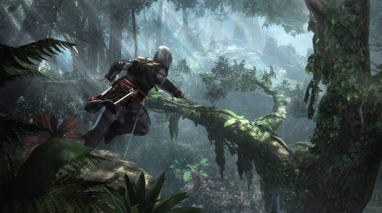 Gamescom 2013 - lopakodós Assassin's Creed IV: Black Flag trailer bevezetőkép
