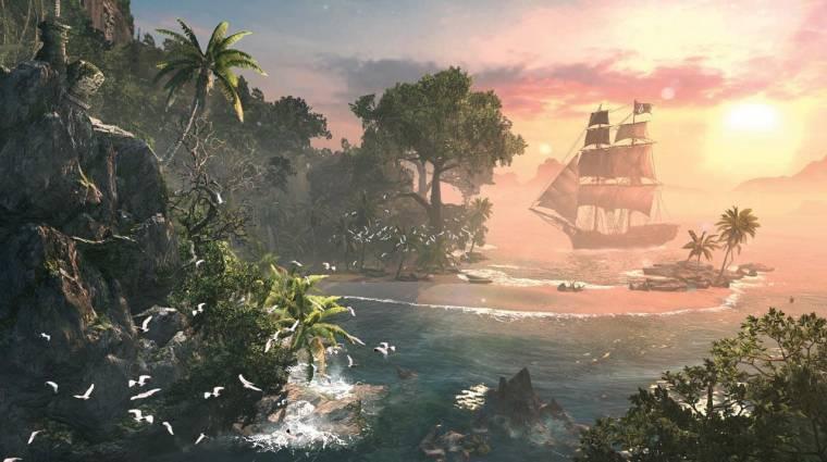 Assassin's Creed IV: Black Flag - a széria legteljesebb világát kapjuk bevezetőkép