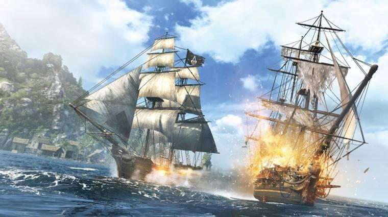 Assassin's Creed IV - brutális erődostrom (videó) bevezetőkép