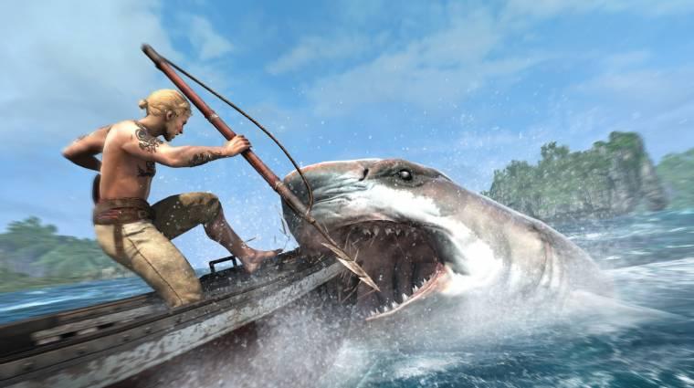 Assassin's Creed IV: Black Flag - így öld meg a cápát bevezetőkép