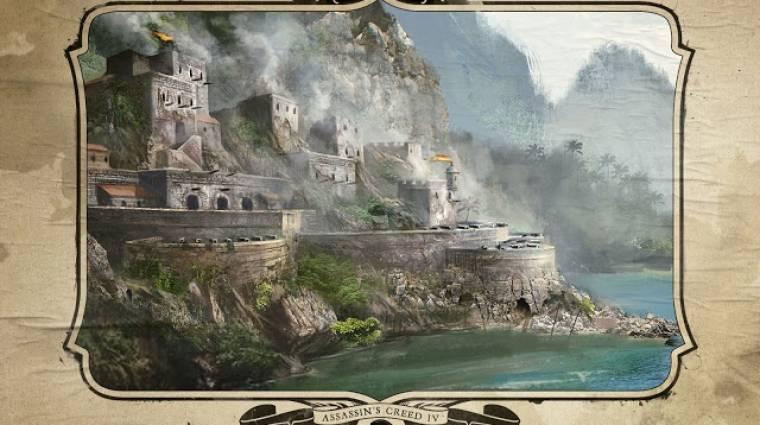 Assassin's Creed IV: Black Flag - íme az erődítményrendszer bevezetőkép