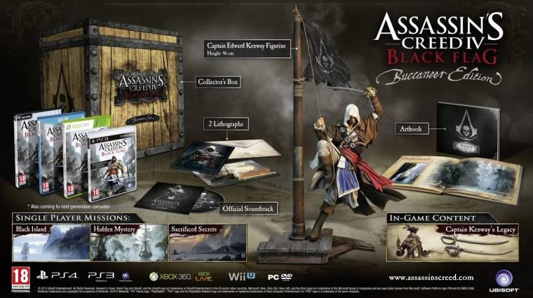 Assassin's Creed IV: Black Flag - faládában a gyűjtői kiadás bevezetőkép
