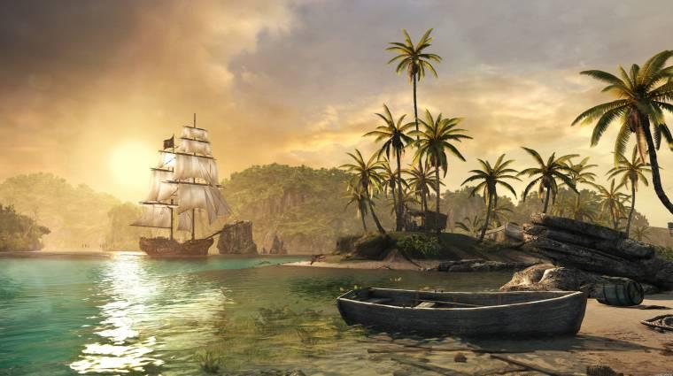Assassin's Creed IV: Black Flag - gigantikus patch érkezett  bevezetőkép