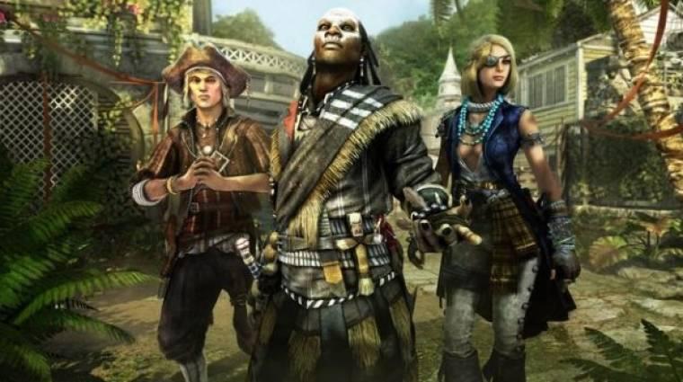 Assassin's Creed IV: Black Flag - a Szirén, a Sámán és a Potyautas bevezetőkép