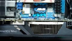 Brutális ASUS videokártya mini-ITX házba kép