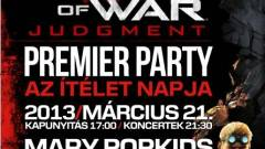 Gears of War: Judgment - magyar launch party kép